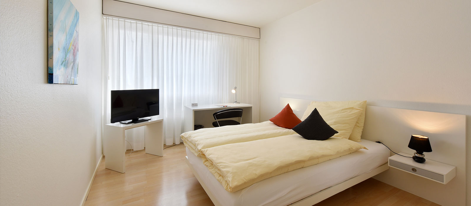 APALIVING Budgethotel Bâle Chambre Comfort